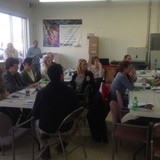 Over 20 people attended the Hays Take Charge Challenge January Lunch and Le