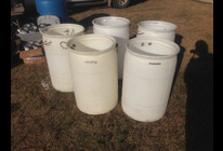 From Trash to Treasure. 40 recycling barrels were built and 32 were distrib