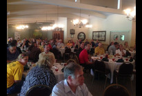 Approximately 90 people attended the Sept. Hays Area Chamber luncheon.
