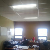 KCBPU LED project tour: Employee Office