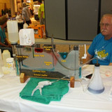 Ellis County booth demonstrating well contamination at Water & Energy F